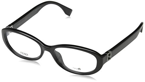 Fendi Damen FF 0070/F D28/16-53-16-135 Brillengestelle, Schwarz, 53