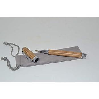 Holz Rollerpen Kugelschreiber Holz Eiche Magnetkappe Holz Handarbeit Pen Geschenk Geschenk-Idee Unikat
