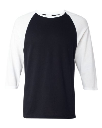 Anvil 2184 Three-Quarter Sleeve Raglan Baseball T-Shirt