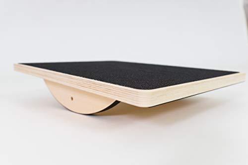 BoarderKING Indoorboard Kids ab 3 Jahre - Plank Trainer Balancepad Kinder Balanceboard