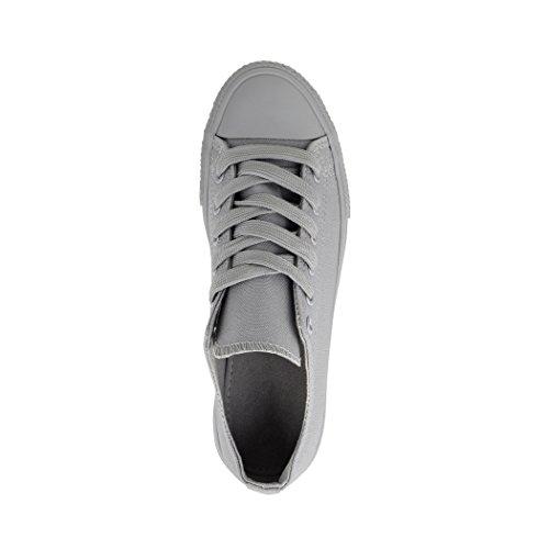 Elara Sneaker Donna Grau one colour
