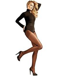 """Y-BOA 1pair Fille Femme Collant d'Autonome Hiver en Nylon 40D Epais Résistant Velouté Uni Type """"L"""" Orange Foncé"""