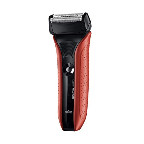 Braun WF2S Red WaterFlex Men's Electric Shaver