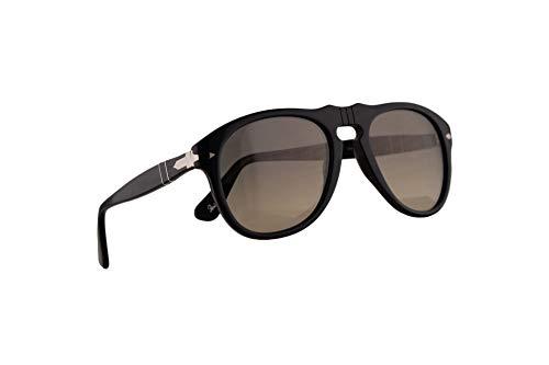 Persol 649 Sonnenbrille Schwarz Mit Grauem Verlaufsglas Gläsern 9532 52mm PO 0649 PO0649 PO649