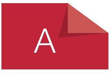 Dymo-Prägeetiketten (selbstklebend, 9mm x 3m) weiß auf rot
