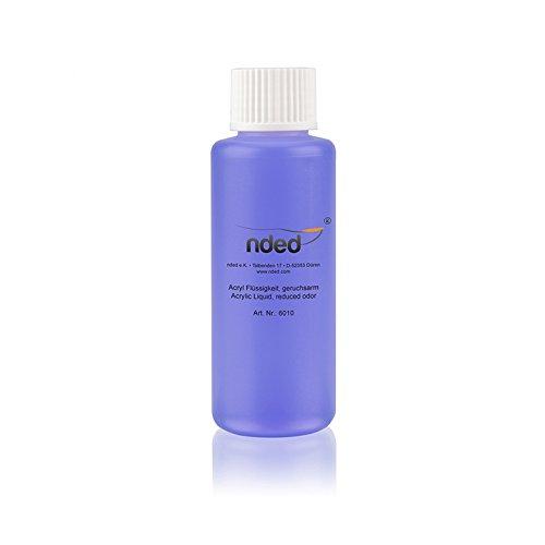 Liquide acrylique MONOMER NDED pour résine acrylique faux ongles odeur réduit