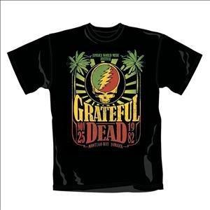 Loudclothing Jamaica Herren T-Shirt - Adult Gr. S, schwarz (Jamaica Mens Tee)