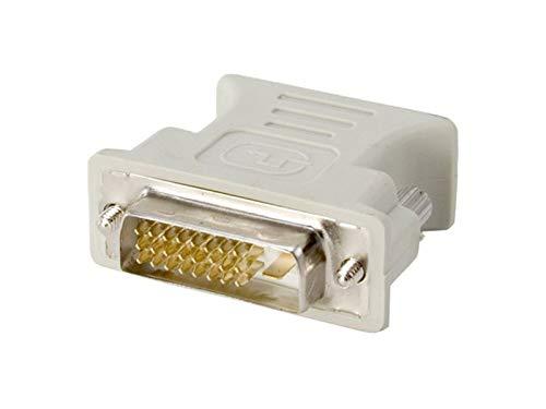 adaptare 20109 Analoger Monitoradapter DVI-D-Stecker VGA-Kupplung (24+1-polig männlich/15-polig weiblich)