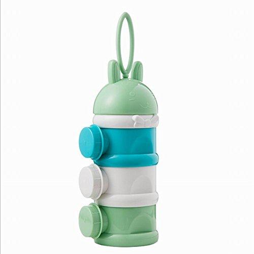 Lin XH Milchbehälter - DREI Gitter Lebensmittelbehälter Aufbewahrungsbox Tragbare Milchpulver Mula Baby Kids Kleinkind - Boxen Aufbewahrungsboxen Aufbewahrungsboxen Peugeot Zubehör