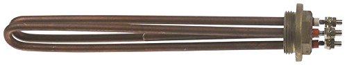 BFC Heizkörper für Kaffeemaschine Lira, Antea-2gr 2500W 230V Länge 285mm Breite 35mm 2 Heizkreise Höhe 24mm Anschluss M6 1¼'