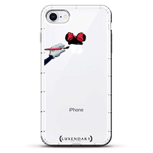 Luxendary Designer, 3D-Druck, modisch, hochwertig, Air-Pocket Kissen, Fandom: Mouse Ears & Bow Sketch, farblos -