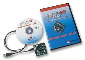 PIC32, W / PROGRAMMER, STARTER KIT DM320001 By MICROCHIP