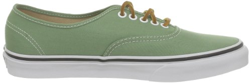 Vans U Authentic, Baskets mode mixte adulte Vert (Brushedtwill S)