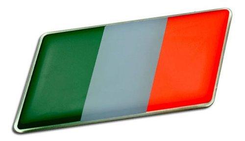 ITALIAN ITALY FLAG Emblem Badge Nameplate Decal Rare for Maserati A6 A6G A6G54 3200 GTB 3500 GT Touring Spyder Vignale Mistral 3500 5000 GTI Quattroporte 2 3 II III Royale Frua Sebring 3700 4000 Mexico 4200 4700 Ghibli SS Indy Europa 4200 4700 Khamsin 4900 Bora 4.7 4.9 Merak SS 4porte Kyalami Biturbo E S 425 Zagato 2.5 E S 228i 420i 425i 430 Si 422 2.24V 4.18v 4.24v 222E Karif Racing Barchetta Stradale Coupe GS Grand Sport V MC12 MCC GranTurismo GranCabrio -