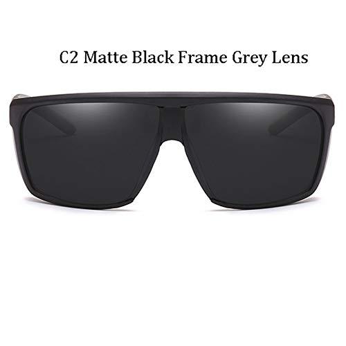 Kjwsbb Herren Big Frame SonnenbrilleÜbergrößeSonnenbrilleBrille Herren Driving Brillen