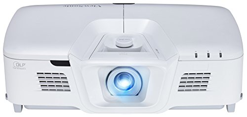 Viewsonic PG800HD Business DLP Projektor (Full-HD, 5.000 ANSI Lumen, HDMI, USB,  2x 10 Watt Lautsprecher, 1.3x optischer Zoom) Weiß