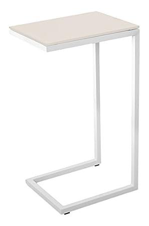 cribel logico tavolino, metallo laccato, vetro temperato, corda ... - Tavolino Laccato Company