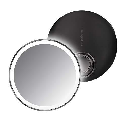 Simplehuman - Espejo con Sensor Acero Inoxidable, 11 cm