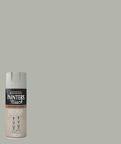 rust-oleum-ae0050010e8-400ml-satin-painters-touch-spray-paint-stone-grey