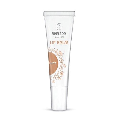 Lip Treatment Balm (WELEDA Lip Balm (1 x 10 ml) - pflegender Lippenbalsam mit Bio-Sheabutter und Bio-Jojobaöl, Farbton Nude)