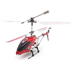 ToGames-ES Syma S107G Gyro Metal infrarrojo 3CH RC Drone Mini helicóptero Juguetes Regalo RTF