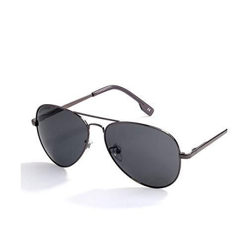 Sonnenbrillen Sunglasses Men Polarized Brand Classic Metal Pilot Glasses For Women Brown Lens Fashion Style UV400 Gafas De Sol Grey