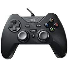IHK Gaming-PC-Controller für Computer/Laptop (Windows 10/8.1/8/7/XP)/PS3 Plasytation 3/Android Geräte/PC360/TV Box/Steam Game mit Dual Turbo Vibration
