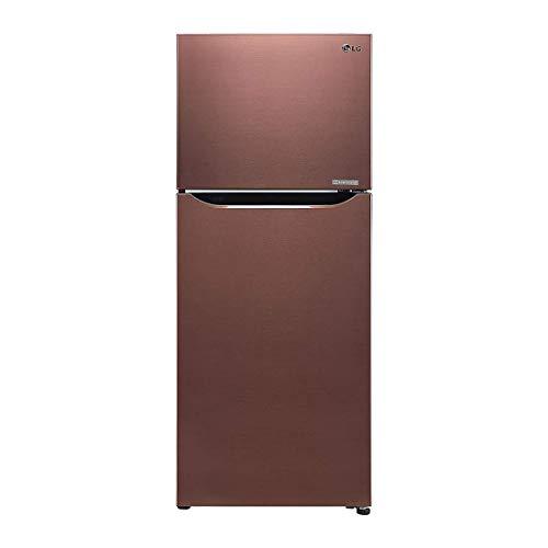 LG 260 L 3 Star Frost Free Frost Free Double Door Refrigerator  GL C292SASX, Amber Steel