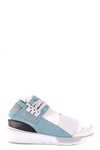 online retailer 4dd76 233a6 adidas Y-3 Yohji Yamamoto Sneakers Uomo Mcbi009045o Tessuto Azzurro