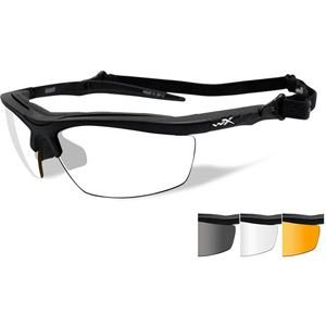 WILEY X GUARD Smoke Grey/Clear/Light Rush Matte Black Frame