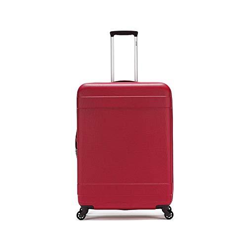 Qzny Koffer, Trolley Reisetasche 20 24 28 Zoll Lockbox Gepäck Reisetasche Universal Rad für Männer Frauen Reisen Kratzfestigkeit Reibungsbeständigkeit (Farbe : B, Größe : 76 * 52 * 30cm)