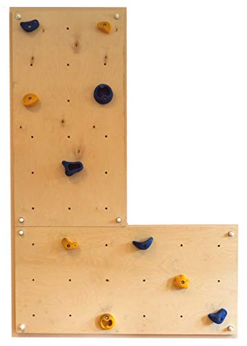 Parete da arrampicata per uso interno iw2 in casa e in stanzetta da bimbi di gartenpirat®