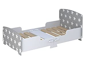 Kidsaw Star Junior/Toddler Bed Grey, of