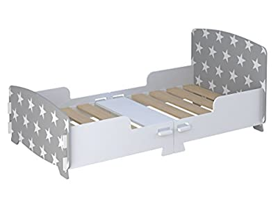 Kidsaw Star Junior/Toddler Bed Grey, of