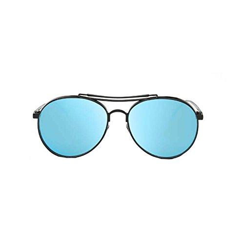 Black Temptation Anti-UVA Anti-UVB Neue Art und Weiseart Metallrahmen-Sonnenbrille