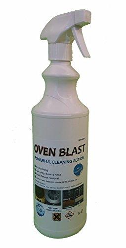 Ofen Blast-Heavy Duty Ofen/Küche Appliance Reiniger 1l gratis Handschuhe & Maske (Heavy-duty-ofen-reiniger)