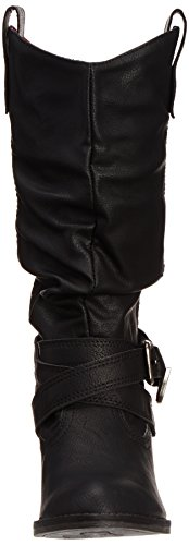 Rocket Dog Sidestep Damen Stiefel Schwarz (Black)