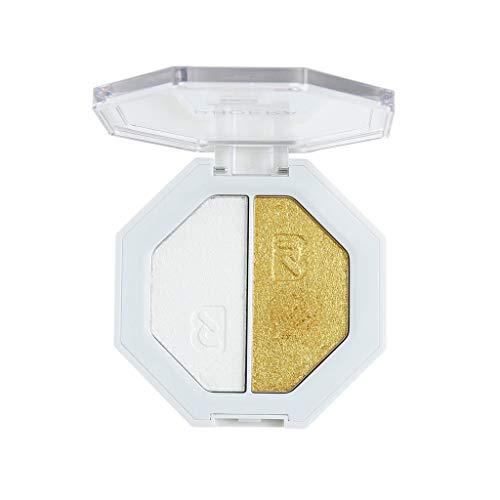 ALIKEEY Phoera Evidenziatore Bicolore Make Up Shimmer Cream Face Highlight Eyeshadow, Eyeshadow Palette Glitter