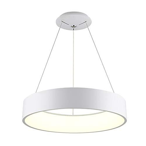 COCOL Lámpara Colgante, lámpara Moderna, lámpara de acrílico de Aluminio para el Restaurante Lámpara Colgante LED, Cocina, Dormitorio, Oficina, iluminación Colgante