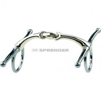 SPRENGER DYNAMIC RS Schenkeltrense 16 mm (Aurigan), 13.5 cm, 16 mm