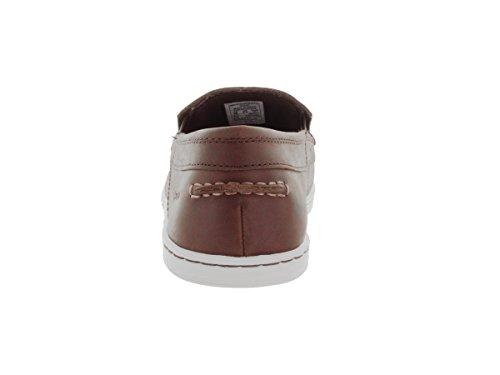 Brown Waxy amp; Schuh Leather auf Loafer Slip Herren slip ons Dark Sebago Barnet 's xqCwp7cBP