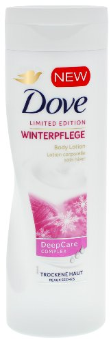 3 x Dove Limited Edition Winter Pflege Feuchtigkeitsspendende Bodylotion Deep Care Complex je 250ml