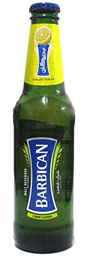Barbican Non Alcoholic Malt Drink Bottle, Lemon Flavour 330ML (Set of 2)