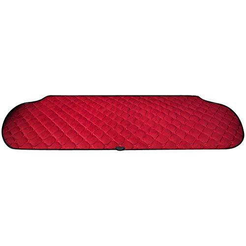 12V Auto Cartoon Beheizte Sitzkissen-Kits Mit 3-Wege-Temperaturregler Konstante Temperatur Heizung Auto-Sitz (Nicht Enthalten Sitze),Red/Back (Beheizte Autositze Kit)