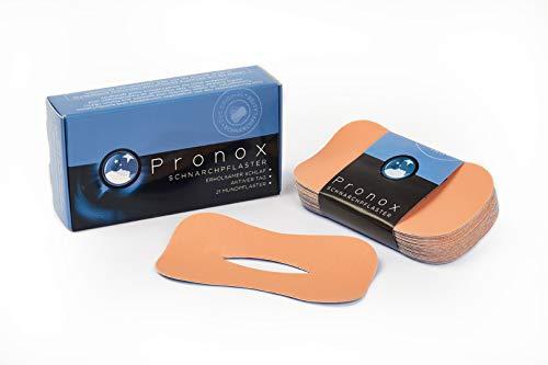 PRONOX Schnarchpflaster - Schnarchstopper für ruhige Nächte (bis zu 100% weniger Schnarchen, erholsam schlafen)