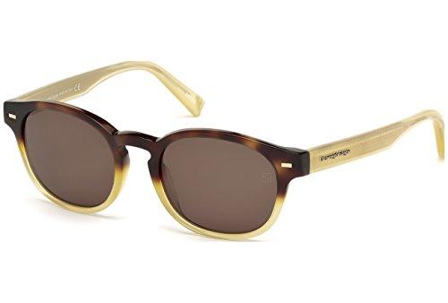 lunettes-de-soleil-ermenegildo-zegna-ez0029-c51-56j-havana-other-roviex