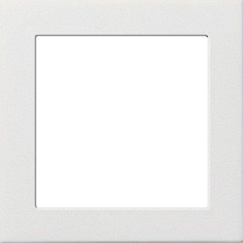 Gira Flächenschalter reinweiß Zwischenplatte 50 x 50 mm, 0282112