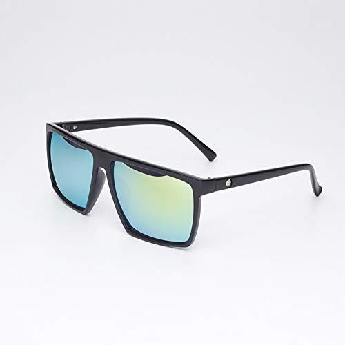 AAMOUSE Sonnenbrillen Fashion Square Sonnenbrille Damen HerrenBig Black Sonnenbrille Mirror Shades UV400 Sonnenbrille für Herren
