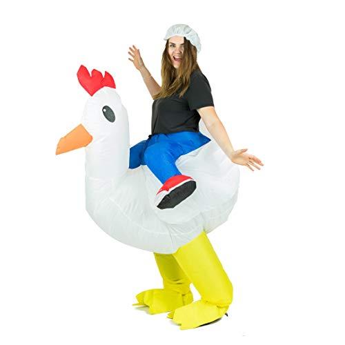 Bodysocks® Disfraz Hinchable de Pollo Adulto