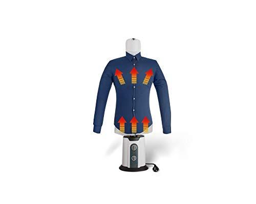 TECHNOSMART Plancha y Secadora automática | Plancha para Camisas | Maniquí de Planchado con Calor | 2 en 1 Secador y Plancha | Temperatura y Tiempo Ajustable (Camisas)